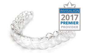Image of an invisalign clear aligner.